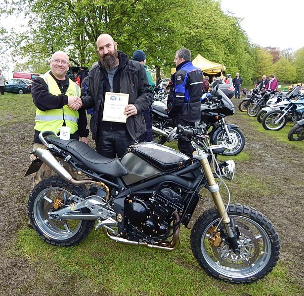 Overall Best in Show - Triumph Street Triple