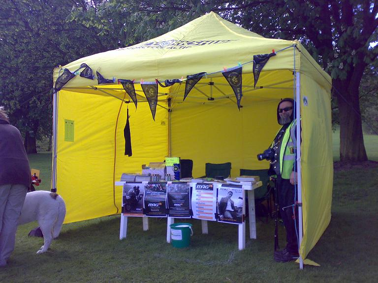 Yorkshire MAG Stand