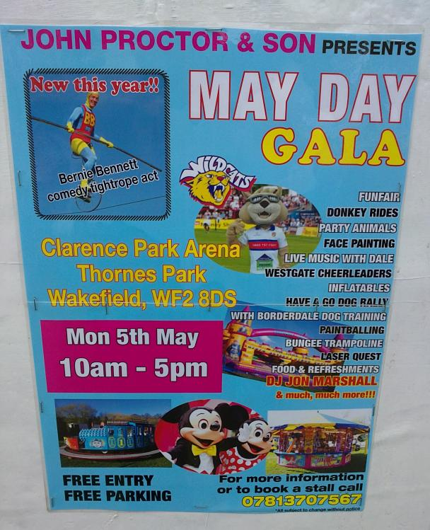 Wakefield May Day Gala