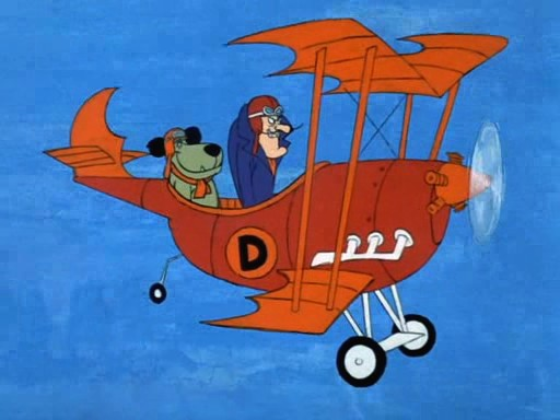 it was Dick Dastardly