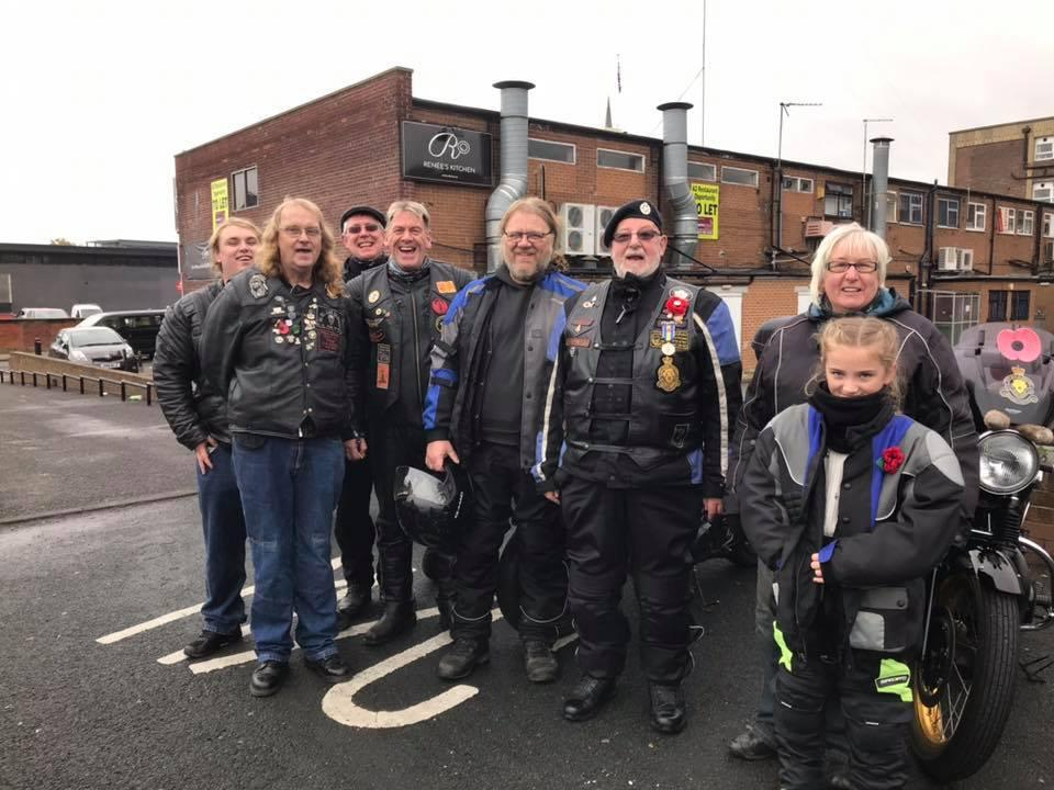 Large Wakefield MAG turnout for the City of Wakefield Remembrance Sunday parade