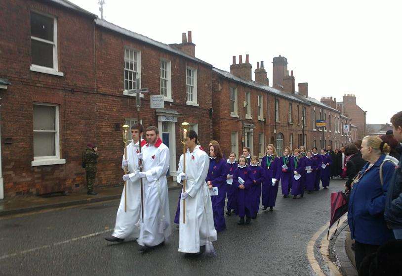 Wakefield Cathedral clergy