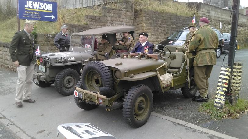 Historic Military vehicles taking part