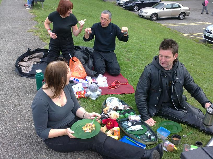 Picnicing in Lincs