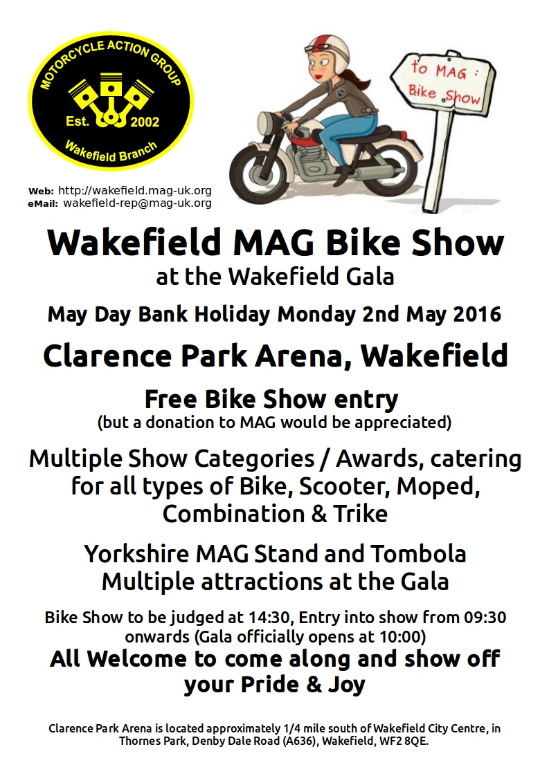 2016 Bike Show Poster