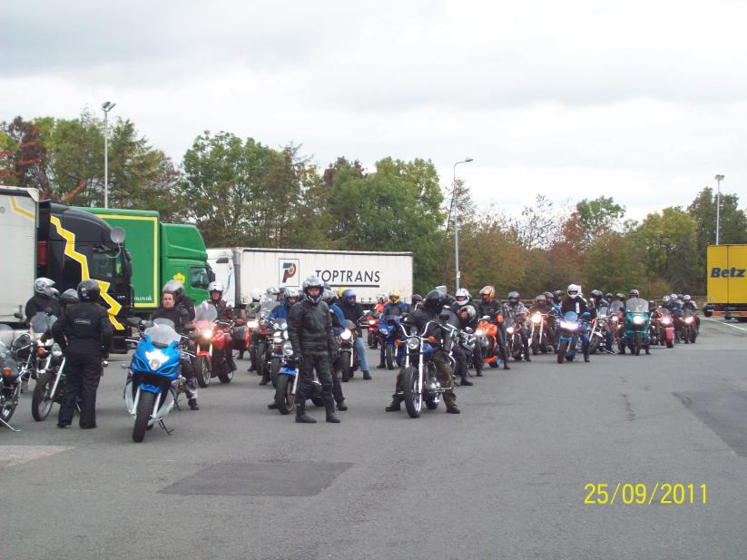 Assembling at the start point
