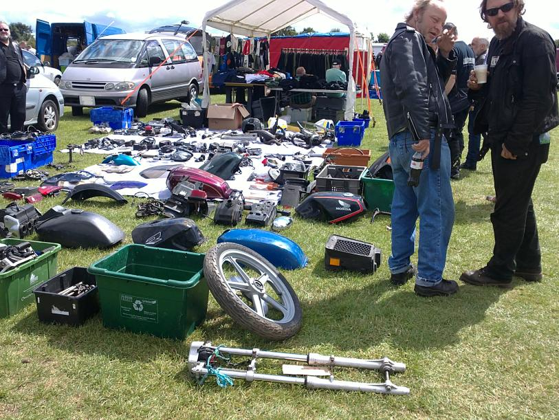 the autojumble