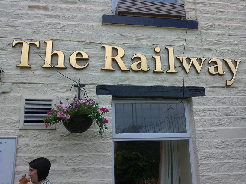 The Railway, this time at Marsden