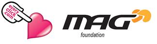 Raise money for MAG FOUNDATION LIMITED every time you search the web with everyclick.com
