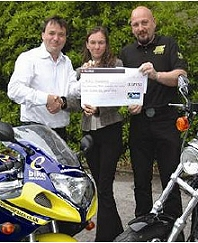 MAG Foundation receiving the cheque