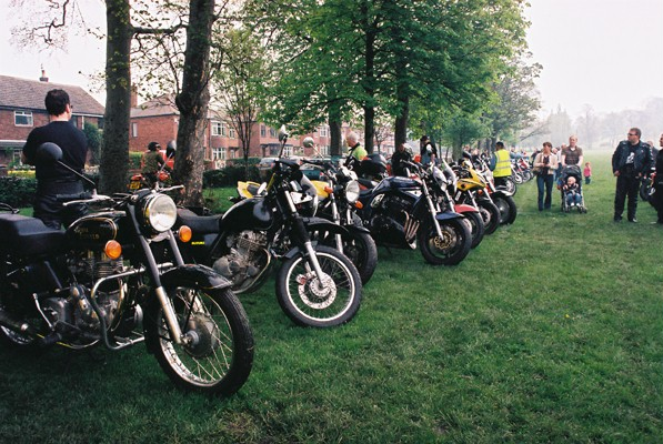 Bike Show, one of our many annual events